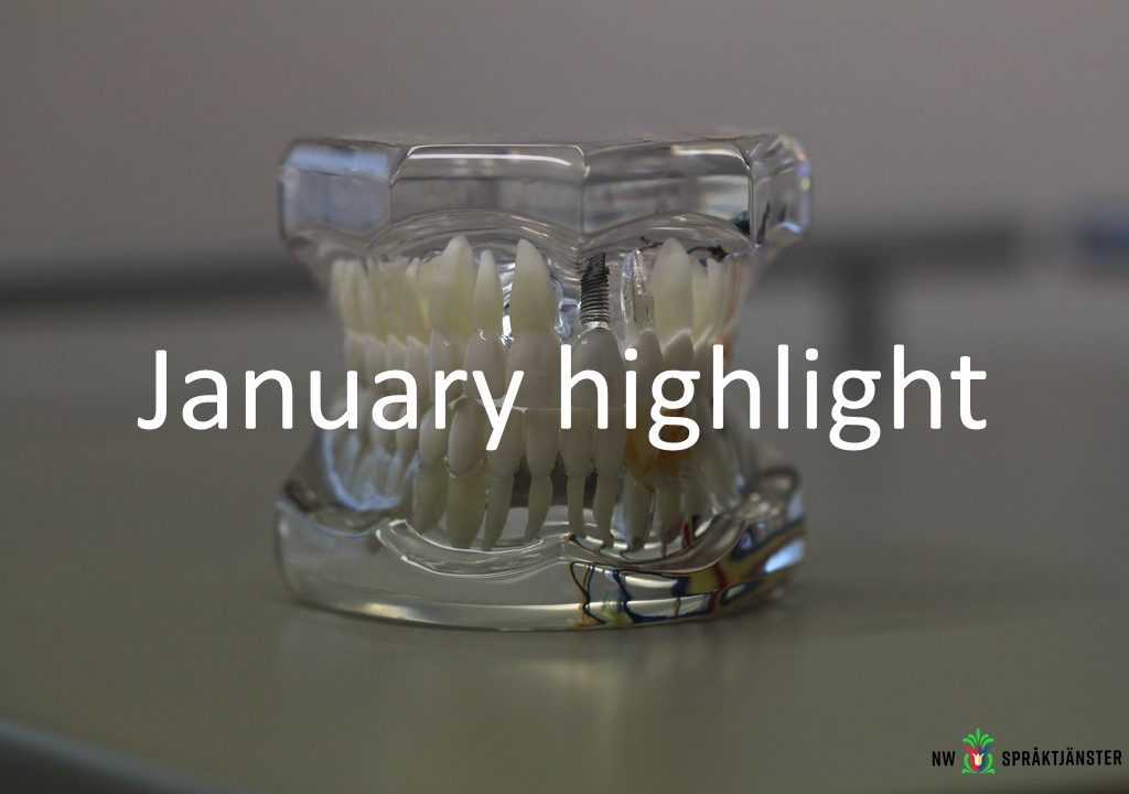 January highlight